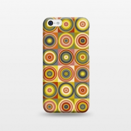 iPhone 5C  Imperfect Circles by Majoih