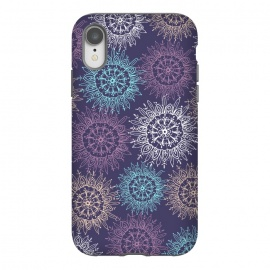 Purple Pattern  by Rose Halsey (circles,mandala,floral,flower,purple,pattern,nature)