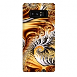 Galaxy Note 8  Fractal Art XV by Art Design Works