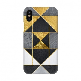 iPhone X  Geometric XXIV by Art Design Works