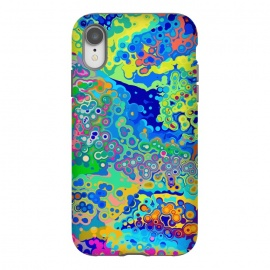 iPhone Xr  Colorful Cells Design by Art Design Works