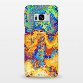Galaxy S8+  Colorful Cells Pattern Design by Art Design Works