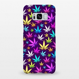 Galaxy S8+  Colorful Weed Pattern by Art Design Works