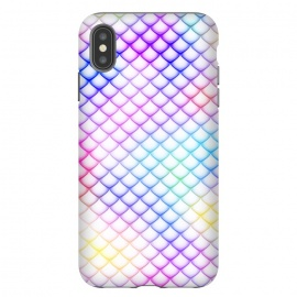 iPhone Xs Max  Colorful Mermaid Scales by Art Design Works