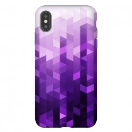 iPhone Xs Max  Ultra Violet Pattern II by Art Design Works