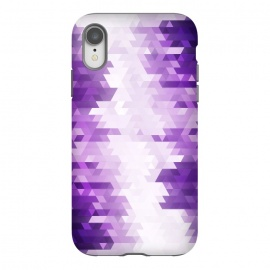 iPhone Xr  Ultra Violet Pattern III by Art Design Works