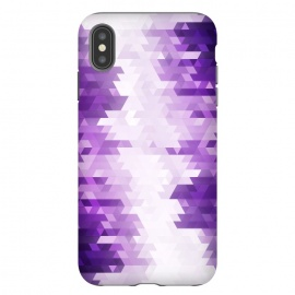 iPhone Xs Max  Ultra Violet Pattern III by Art Design Works (arts cases,phone case,abstract,color,colors,iphone,samsung,gift,design,unique,modern,style,fresh,vivid,cool,print,art,tmarchev,art design works,skin,protector,artcase,texture,decorative,violet,purple,pattern,tech)
