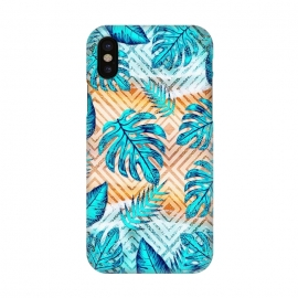 iPhone X  Tropical XII by Art Design Works