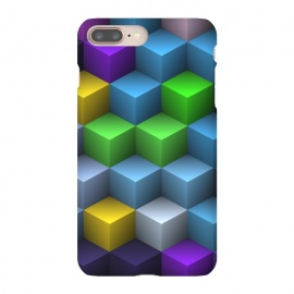 3D Colorful Squares Pattern by Art Design Works