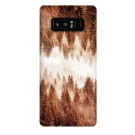 Galaxy Note 8  Abstract Forest I by Art Design Works