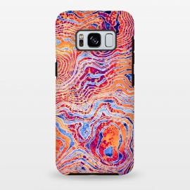 Galaxy S8 plus   Abstract Colorful Marble I by