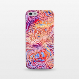iPhone 5/5E/5s   Abstract Colorful Marble II by Art Design Works