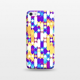 iPhone 5C  Colorful Pattern I by Art Design Works