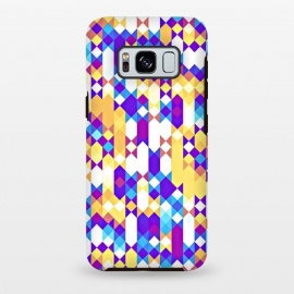 Galaxy S8+  Colorful Pattern I by Art Design Works