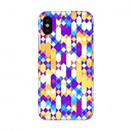 iPhone X  Colorful Pattern I by Art Design Works