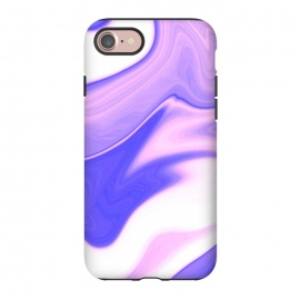 iPhone 8/7  Pink, Purple and White by Ashley Camille