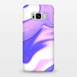 Galaxy S8+  Pink, Purple and White by Ashley Camille (pink,purple,white,abstract,digital,wavy)