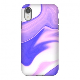 iPhone Xr  Pink, Purple and White by  (pink,purple,white,abstract,digital,wavy)