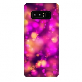 Galaxy Note 8  Lovely Bokeh Effect design by Art Design Works