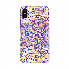 iPhone X   Colorful Pattern III by Art Design Works