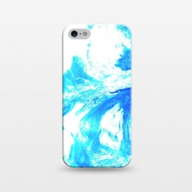 iPhone 5/5E/5s  Abstract Splash by Ashley Camille (abstract,blue,paint,digital)