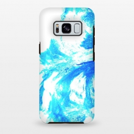 Galaxy S8+  Abstract Splash by Ashley Camille (abstract,blue,paint,digital)
