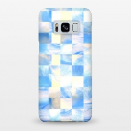 Galaxy S8+  Tiles by Ashley Camille (square, squares, tiles, tile, tiled, lines, grid, check, checks, digital, checker, checkers, pattern, plaid, abstract, texture)