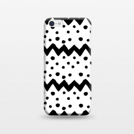 iPhone 5C  Nordic pattern by Laura Nagel