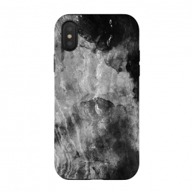 iPhone Xs / X  Gray painted marble by Oana