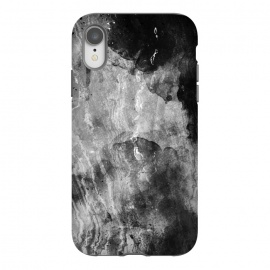iPhone Xr  Gray painted marble by Oana