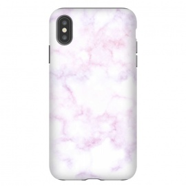 iPhone Xs Max  Soft white pink marble by Oana