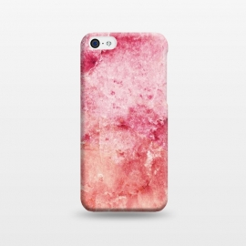 iPhone 5C  Pink peach marble art by Oana