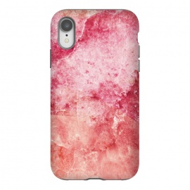 iPhone Xr  Pink peach marble art by Oana