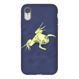 iPhone Xr  Weird Frog With Funny Eyelashes Digital Art by Boriana Giormova