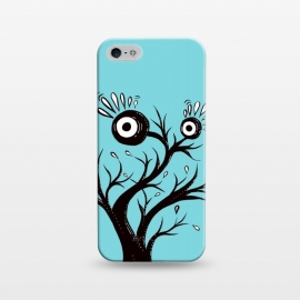 iPhone 5/5E/5s  Tree Monster Weird Ink Drawing by Boriana Giormova