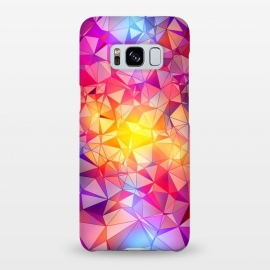 Galaxy S8+  Colorful Low Poly Design by Art Design Works