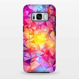Galaxy S8 plus  Colorful Low Poly Design by