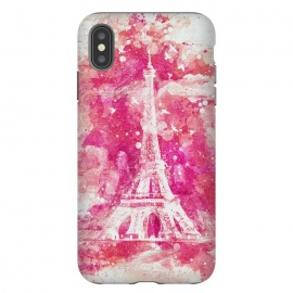 iPhone Xs Max  Artistic XLIV - Eiffel Tower Paris by Art Design Works ( arts cases,phone case,abstract,color,colors,iphone,samsung,gift,design,unique,modern,style,fresh,vivid,cool,print,art,tmarchev,art design works,skin,protector,artcase,texture,decorative,Painting,Acrylic,Oil,Digital,Eiffel,French,Paris,Tower,Architecture,Art,Attraction,Beautiful,Building,Artwork,Pri)