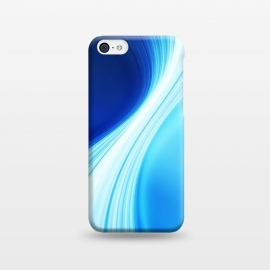 iPhone 5C  Abstract Blue Design by Art Design Works