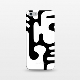 iPhone 5/5E/5s  Shapes in White by Majoih
