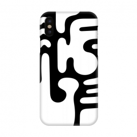 iPhone X  Shapes in White by