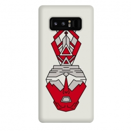 Galaxy Note 8  aztec human tribal by TMSarts