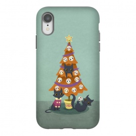 iPhone Xr  Meowy christmas sugarskulls by