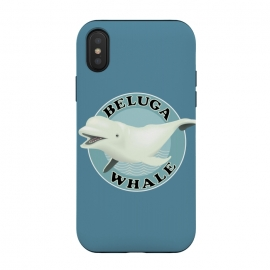 iPhone Xs / X  Beluga Whale by Mangulica