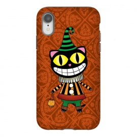 iPhone Xr  Cassiues Harlequin Cat by Mangulica
