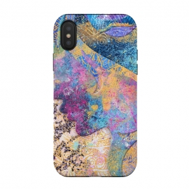 iPhone Xs / X  Abstract Painting VIII by Art Design Works
