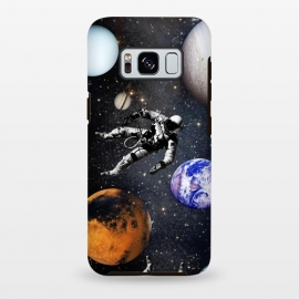 Galaxy S8 plus  Astronaut in space by