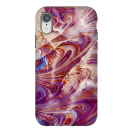 purple pink marble art by Oana