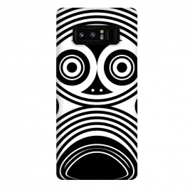 Galaxy Note 8  scary owl eyes by TMSarts