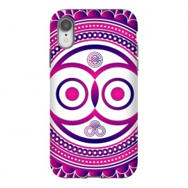 iPhone Xr  pink mandala owl by TMSarts